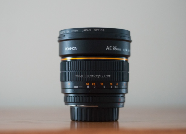 Atlas Concepts, LLC_Rokinon 85mm f/1.4