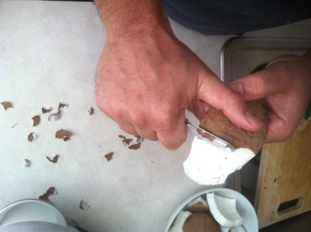 Cracking Coconut (6)
