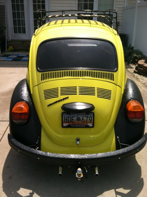 1973 VW volkswagen super beetle bug